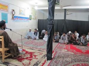 تبلیغ گروهی طلاب سادات اصفهان و قم در هیرمند1392