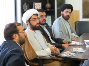 بازدید همکاران مرکز عترت ماندگار نبوی شعبه قم از مؤسسه آلاء در اصفهان