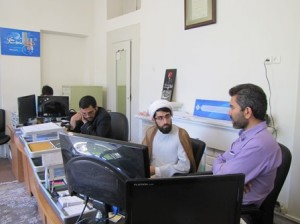 بازدید همکاران مرکز عترت ماندگار نبوی شعبه قم از مؤسسه آلاء در اصفهان 920217