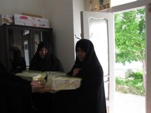 مراسم روز مادر و کارگاه مادران دانش اموزان سادات