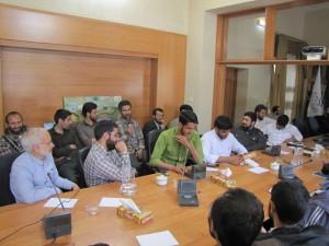 آخرین جلسه کارگاه مدیریت تربیتی
