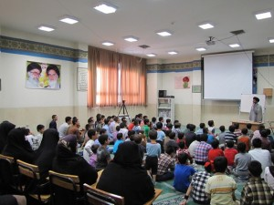 شروع برنامه های دانش آموزی پسران سید اصفهان