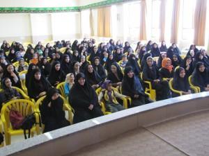 مراسم افتتاحیه ترم تابستانی دانش آموزان دختر عو مرکز عترت