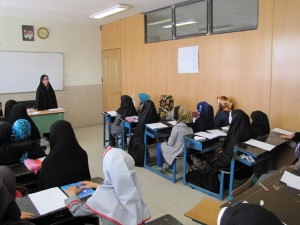 آغاز ترم تابستانی دانش آموزان دختر سیده در مرکز عترت