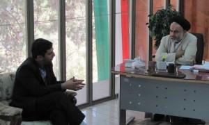 دیدار مدیر عامل مؤسسه آلاء و مسئولین مرکز عترت با آیت الله مهدوی