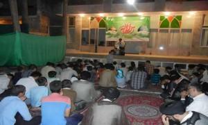 مراسم دعای پرفیض توسل به همت هیئت دانش آموزی سلاله النبی در شعبه قم مرکز سلاله