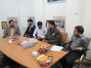 جلسه راه اندازی قرارگاه جهاد وارثین